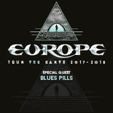 Europe - Tour The Earth 2017-2018