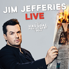 Jim Jefferies - The Unusual Punishment Tour - Göteborg
